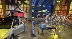 テスラ モデルX をチャリンコ9台で充電しちゃう実験動画