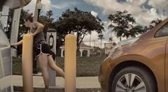 リーフ乗りの女 のテスラ モデル3から充電器を奪い取るの巻