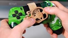 PS4のコントローラーをハンコンに改造してみた