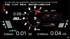 トヨタ GRスープラ RZ 0-250km/h メーター動画