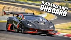 はえー!1200馬力 ZYRUS Lamborghini LP1200 ニュル 6分48秒フルオンボード動画