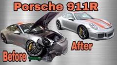 ポルシェ 911R の事故車を落札して修理するよ