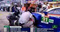 32秒でブレーキ丸ごと交換しちゃうレーシングカーのピット作業