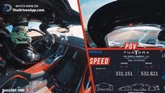 超はえー!SSCトゥアタラ 532.93km/h 市販車最速オンボード動画
