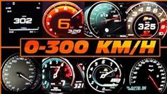 0-300km/hタイム計測メーター動画あれこれ