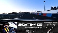 メルセデス AMG GT 63 S 4MATIC ニュル7分27秒8フルオンボード動画