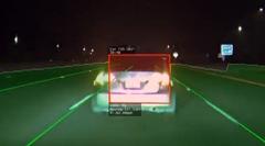 220km/hで自動運転中のテスラがシビックに猪突猛進
