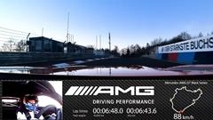超はえー!メルセデス AMG GT ブラックシリーズ ニュル 6分43秒616 フルオンボード動画