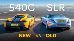 マクラーレン 540C vs メルセデス SLRマクラーレン ドラッグレース動画