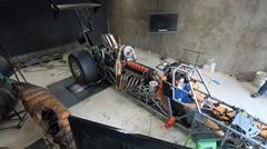 2000馬力の2JZを積んだドラッグスターのパワーを計測するよ