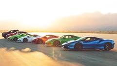 F8 vs ウラカンEVO vs コルベット vs GT500 vs NSX vs 992ターボS vs カイエン vs 1500TRX ドラッグレース動画