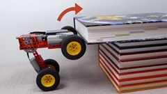 どんな障害物も乗り越えるレゴカーを作ってみるよ