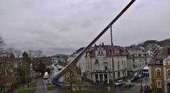 まるで巨大な刀 65mの巨大風力発電用ブレード運搬動画