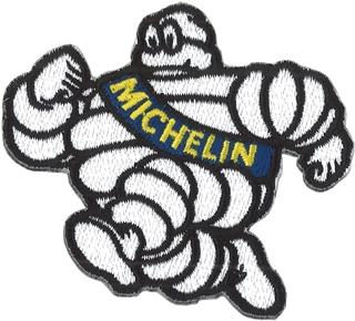 東洋マーク Michelin Collection ビバンダム 刺繍 ワッペン 接着芯 R-909