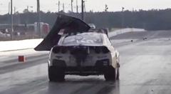 ゼロヨン6秒台のモンスターGT-R インマニが吹っ飛ぶの巻