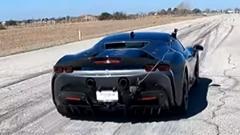 フェラーリ SF90 ストラダーレのEVモードの加速力を計測してみた