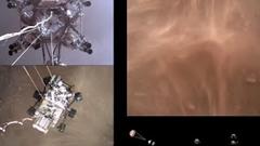 火星探査機パーサヴィアランスが着陸する映像がスゴイ