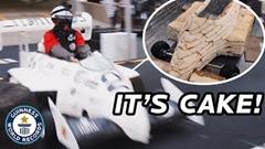 ケーキで作った車が27.48km/h出しちゃうギネス世界記録動画
