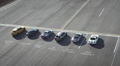 キア EV6 GT vs フェラーリ vs ランボ vs ポルシェ vs マクラーレン vs AMG ドラッグレース動画
