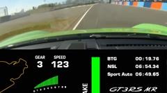 はえー!ポルシェ 991 GT3 RS MR ニュル6分54秒34 フルオンボード動画