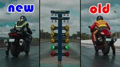 スズキ 新型Hayabusa vs 旧型HAYABUSA ドラッグレース動画