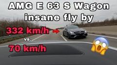 はえー!330km/hのAMGに一瞬で追い抜かれちゃうアウトバーン動画