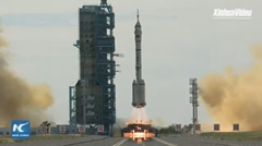 中国 有人宇宙船「神舟12号」を搭載したロケット「長征2号F遥12」打ち上げ動画