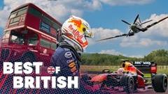 レッドブル F1 vs スピットファイア他イギリス名物対決動画