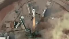 ブルーオリジン初の有人宇宙船による約10分間の宇宙旅行