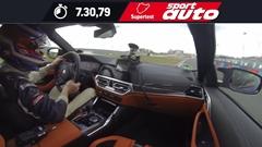 BMW M4 コンペティション G82 ニュル 7分30秒79 フルオンボード動画