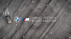 BMW M3/M4のドリフトアナライザーの使用方法がわかる動画