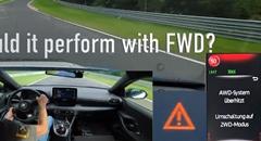 トヨタ GRヤリスでニュルを数周走ったらAWDシステムがオーバーヒートしちゃったい!